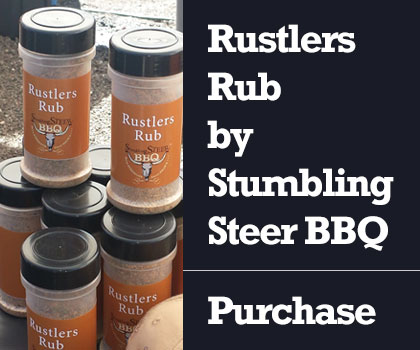 bbq rub by stumbling steer bbq