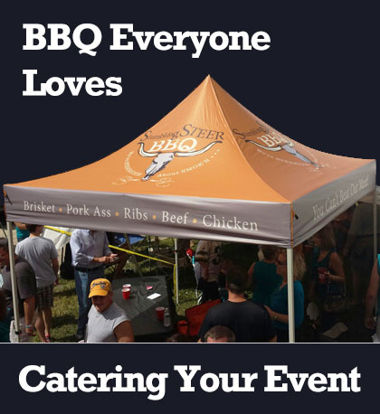 bbq catering festival tent