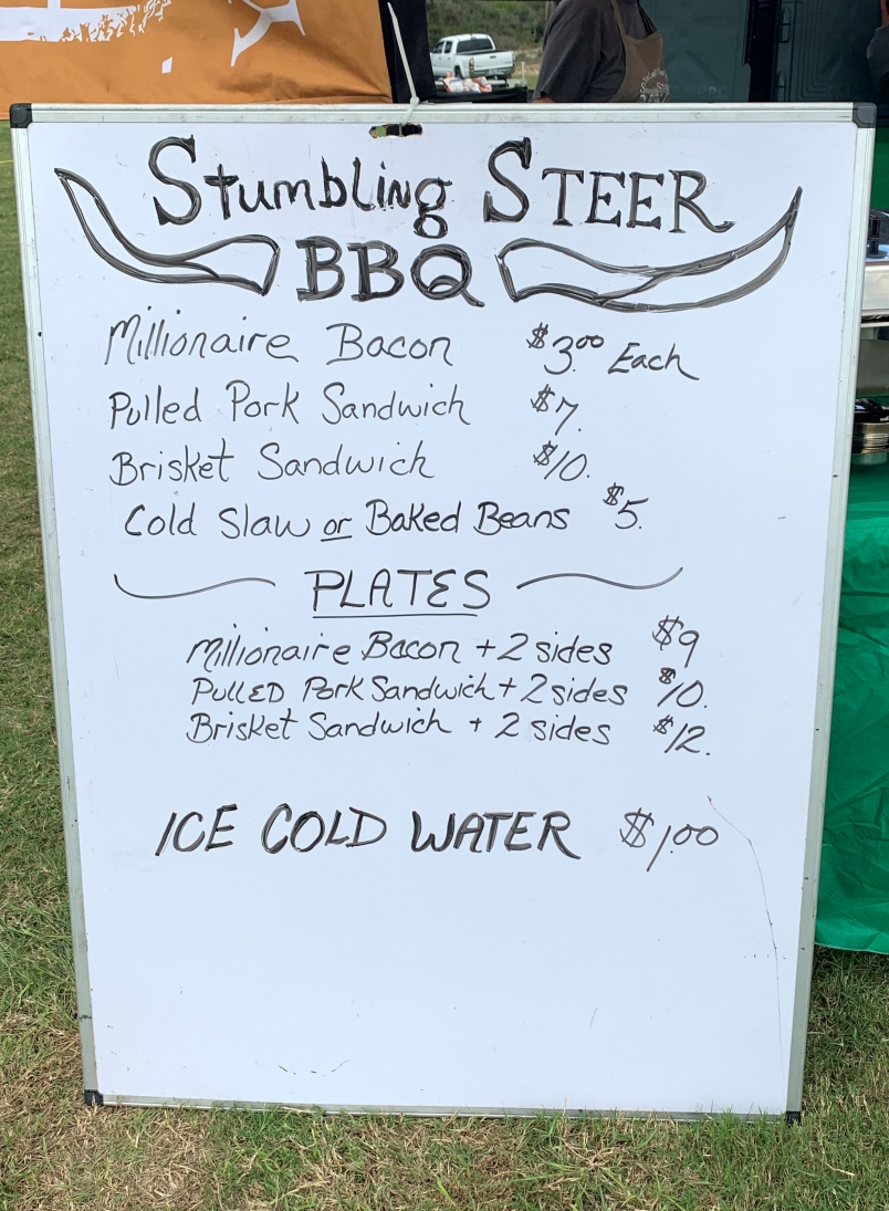Southeastern Ribs Event Menu